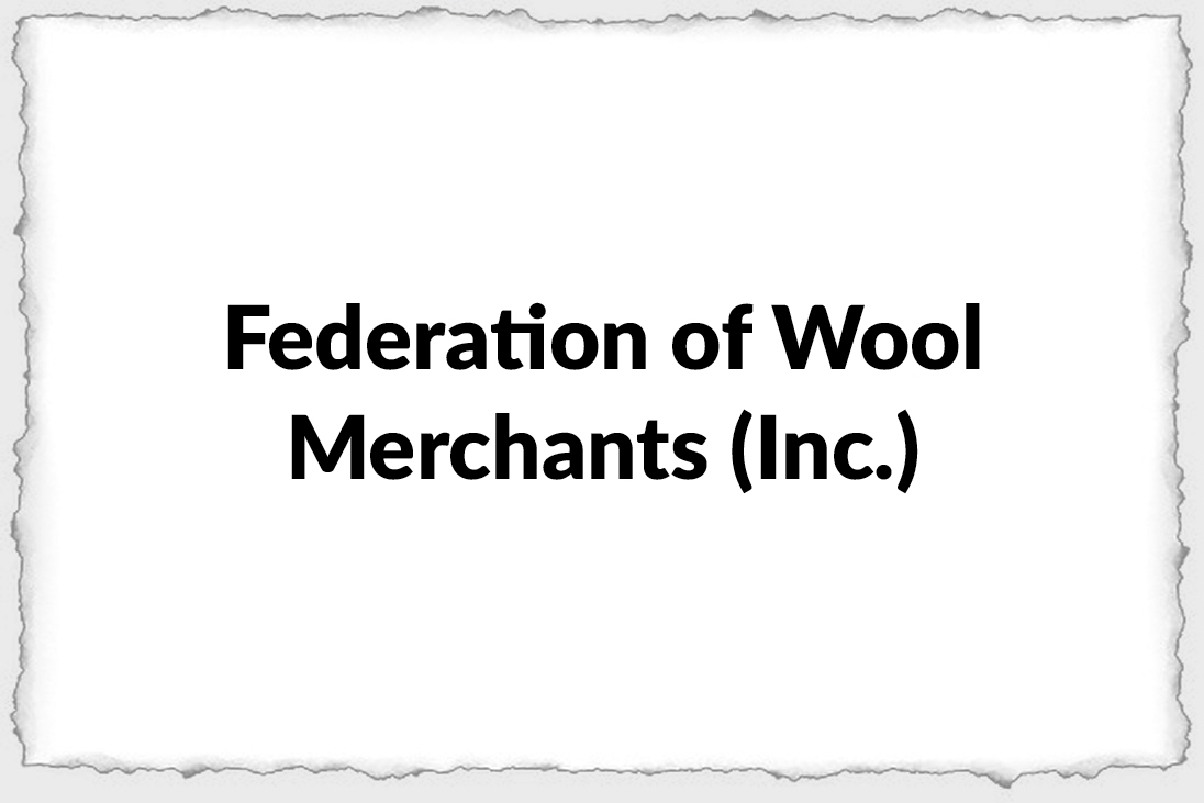 Federation of Wool Merchants Inc